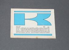 N°259 ECUSSON BADGE KAWASAKI JAPON JAPAN NIPPON ALBUM PANINI MOTO SPORT 1979