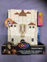 Disney Pixar Coco Hacienda Playset Mattel Fly46 2017 Neu Ovp Skullectables Haus
