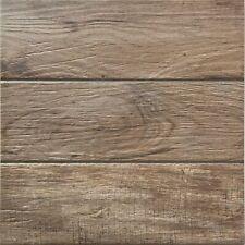 Rondine Pavimento per esterno effetto legno Brown 34x34 cm J85373 Casa39 Gres...