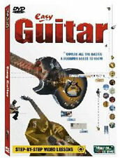 Easy Guitar DVD -Easy to use step-by-step video lessons   Brand New Sealed