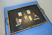 Musical Decorative Metal Tray Home Decor Liquor Advertising Vintage Original