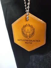 "Battlestar Galactica New Tv Series Standard Dog Tag with 30"" Chain"