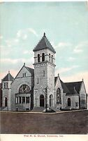 Indiana In Postcard c1910 VINCENNES First ME Church Building