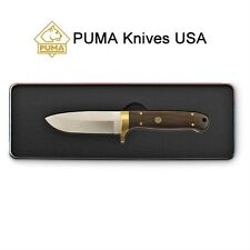 Puma Elk Hunter Wood Handle SGB Fixed-blade Knife Limited Ed Gift Tin w/ Sheath