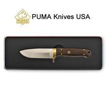 Puma Elk Hunter Wood Handle SGB Fixed-blade Knife Limited Ed Gift Tin w/ Sheath
