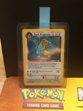 Dark dragonite 5/82 Team Rocket EX Condition Holo Pokemon Card