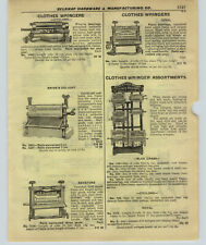 1927 Paper Ad Blue Grass Royal Novelty Store Display Clothes Wringer Rack Stand