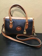 vintage dooney and bourke crossbody Black And Brown Small Shoulder Bag