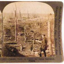 World War I Stereoview Waste On Chemin des Dames Battlefield Keystone View Co