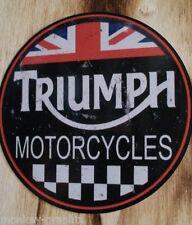 """Vintage / Retro / Oldschool Sticker Britsh Bike """" Triumph """" Gentleman Bobber"""