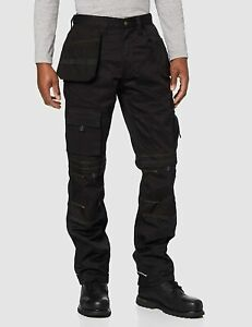 Apache Knee Pad Holster Work Trousers Black 36R