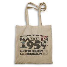 Vintage Original Made in 1959 Tote bag u683r