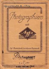 VECCHIO AGFA - FOTO BORSE - photographiere con AGFA von 1952 (agf2048)