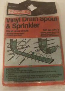 Drain Spout & Sprinkle 144''