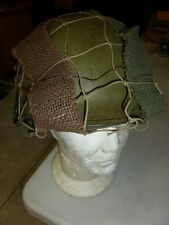 Filet casque US M1 AIRBORNE grandes mailles ( PARATROOPER HELMET WW2