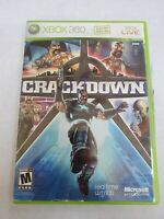 CRACKDOWN Xbox 360 FREE SHIPPING!