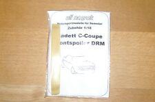 """1:18 Transkit Frontspoiler """"DRM"""" Opel Kadett C-Coupe, NEU & OVP"""