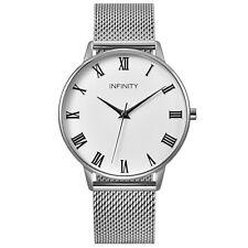 Infinity NB 02 Pearlwhite + Silver Women Minimalist Watch - Women Designer Watch