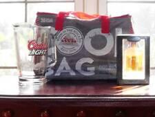 New listing Coors Light Glass Pitcher - Silver Bullet Cooler Bag - Beer Mug Ornament
