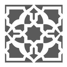 Damask Tile stencil, Reusable, A4/A5/A6
