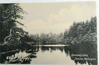 Divided Back Era postcard Spanaway Lake, Tacoma, Washington Printed in Germany