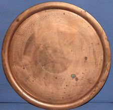 Vintage copper serving tray
