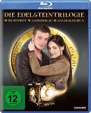 4 Blu-ray BOX * EDELSTEINTRILOGIE RUBINROT SAPHIRBLAU SMARAGDGRÜN # NEU OVP $