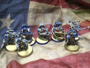 Well Painted chaos space marines warhammer 40k miniatures Night Lords Random