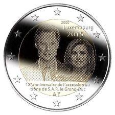 """2 euro 2015 Luxemburg  """"15 Jaar Henri"""" Commemorative - zo uit de rol!"""