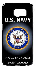 US Navy USN Logo Case Cover for Samsung Galaxy S6 Edge/Plus S5 S4 S3 Note 2 3 4