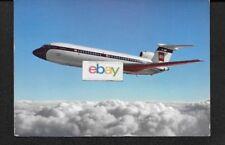 BEA BRITISH EUROPEAN AIRWAYS HS TRIDENT 3 SOVEREIGN SERVICE 1967 POSTCARD