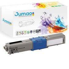 Toner cartouche type Jumao compatible pour OKI C530dn C531 C531dn, Noir 5000 p