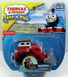 2014 Thomas & Friends Take-N-Play Diecast Metal JACK Engine CDG55 Damaged Box