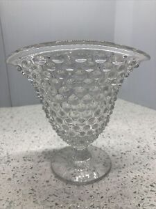 """Hobnail Vase For Flowers Or Cosmetic Brushes! 5.5"""" Tall"""