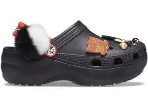 Crocs Classic Cruella Platform Clog 207398-001 Women's Size 9 Brand New Disney