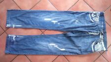 Jeans Dolce&Gabbana style destroyed, taille 50