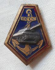 Insigne boutonnière RCCC Régiment Colonial Chasseurs de Chars miniature émail