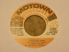 "R. DEAN TAYLOR Gotta See Jane / Indiana Wants Me 7"" 45 re"
