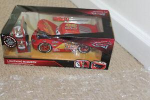 Jada Toys Disney Cars • LIGHTNING McQUEEN With Tire Rack