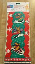 Vintage Winnie the Pooh & Friends Christmas Card Holder 1983 New