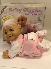 Baby Giggles Russ Battery Operated Troll Doll Original Box Pink Hair SEE VIDEOS