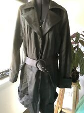 City Chic Silver Trench Coat Size XS