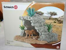 Schleich 42256 Tierhöhle Löwenhöhle Höhle Wild Life Afrika Safari TOP Zustand