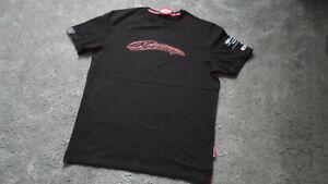 "Mens Kimi Räikkönen ""7"" Alfa Romeo Racing ORLEN 2020 Black T-Shirt Size Large"