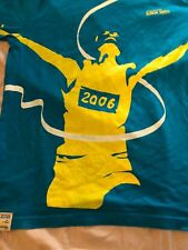 15th Asian Games DOHA 2006 t Shirt Size Large Blue official Merchandise Track