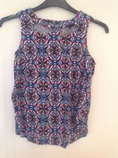 NEW LOOK Size 8 Geometric Print Top - Very Pretty!