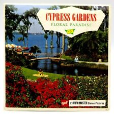 View-Master A969, Cypress Gardens, Florida, 3 Reel Set