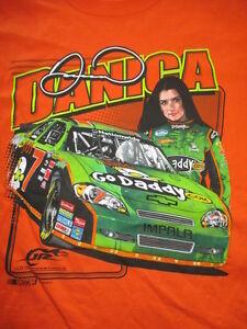 DANICA PATRICK No. 10 GO DADDY.com Jr Motorsports Racing (XL) T-Shirt w/ Tags