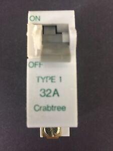 Crabtree SB6000 32A Type 1 M6 MCB