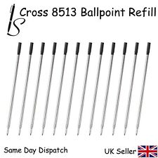 12 CROSS COMPATIBLE 8513 BALL POINT PEN REFILL INK - BLACK X12
